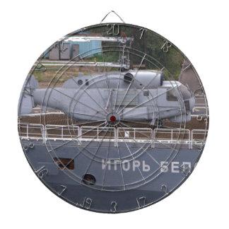 Kamov KA27 Russe-Hubschrauber Dartscheibe