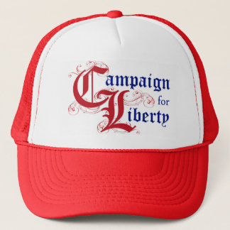 Kampagne für Freiheits-Logo Red Hat Truckerkappe