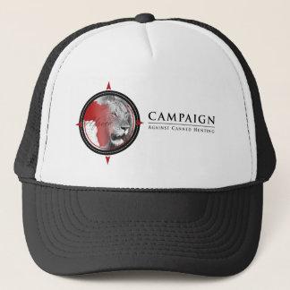 Kampagne gegen eingemachten jagenfernlastfahrerhut truckerkappe