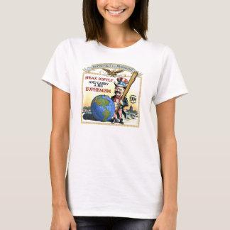 Kampagne Teddy Roosevelt 1904 (Damen-helles Shirt) T-Shirt