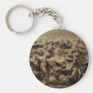 Kampf des Lapiths und Zentaure durch Michelangelo Schlüsselanhänger