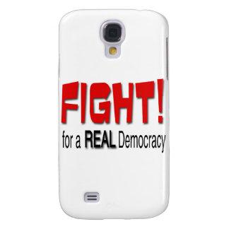 Kampf für eine wirkliche Demokratie Galaxy S4 Hülle