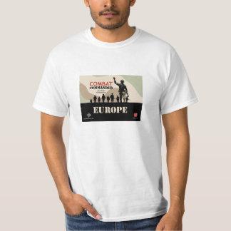 Kampf-Kommandant grundlegende T T-Shirt