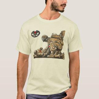 Kampf-Mediziner - legen Sie eine Leben nieder T-Shirt