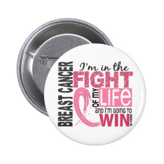Kampf meines Leben-Brustkrebses Runder Button 5,1 Cm