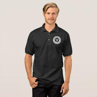 Kampf-Nachtpolo-Schwarzes Polo Shirt
