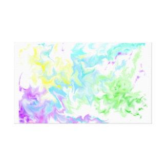 Kampf-Pastell Leinwanddruck