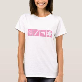 Kampf schreiben retten T-Shirt