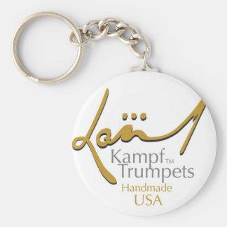 Kampf trompetet Keychain Standard Runder Schlüsselanhänger