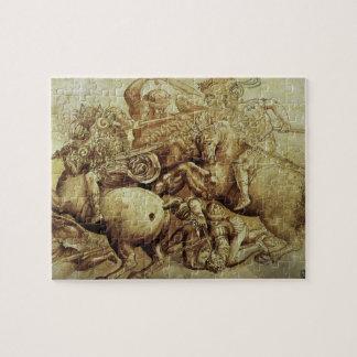Kampf von Anghiari, Leonardo da Vinci, Renaissance Puzzle