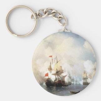 Kampf von Chios am 24. Juni 1770 Iwan Aivazovsky Schlüsselanhänger