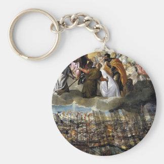 Kampf von Lepanto durch Paolo Veronese Schlüsselanhänger