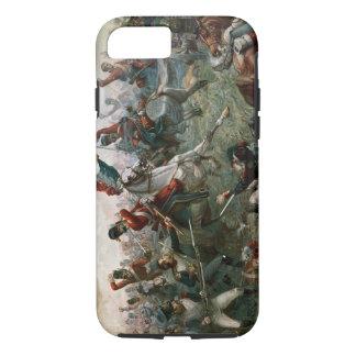 Kampf von Waterloo 1898 am 18. Juni 1815 (Farbe L iPhone 8/7 Hülle