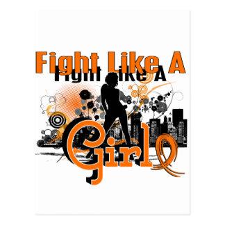 Kampf wie ein Mädchen Mitgliedstaat 30 8 Postkarten