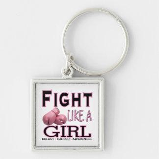 Kampf wie ein Mädchen Schlüsselband