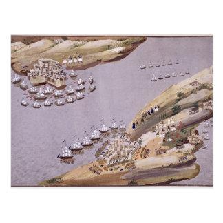 Kämpfe für die Inseln von Kreta und von Samos, Postkarte
