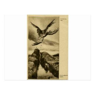 Kämpfen durch Wilhelm Kotarbinski Postkarte