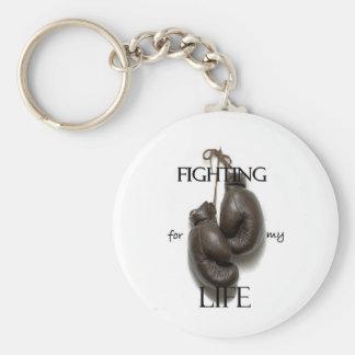 Kämpfen für mein Leben Standard Runder Schlüsselanhänger