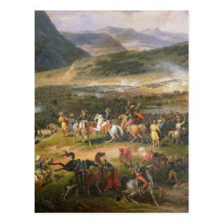Kämpfen Sie Berg Thabor, Detail Napoleon und seins Postkarte