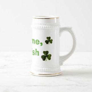Kämpfen Sie mich, ich sind irisch Bierglas
