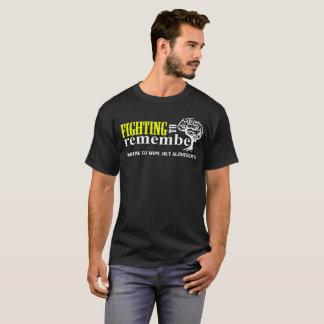 Kämpfen zum sich zu kämpfen zu erinnern, Alzheimer T-Shirt