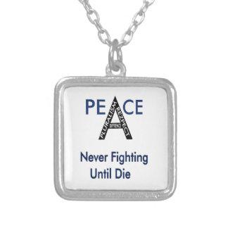 Kämpfend nie bis sterben Sie