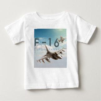 Kämpfender Falke F-16 Baby T-shirt