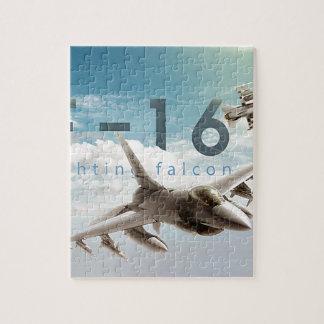 Kämpfender Falke F-16 Puzzle