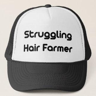 Kämpfender Haar-Bauer Truckerkappe