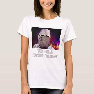 Kämpfender Meister der Windmühle T-Shirt