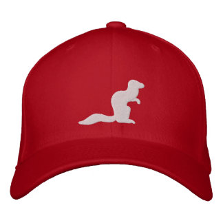 Kämpfender Mungo-Hut Bestickte Baseballkappe