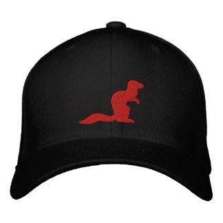 Kämpfender Mungo-Hut Bestickte Kappe