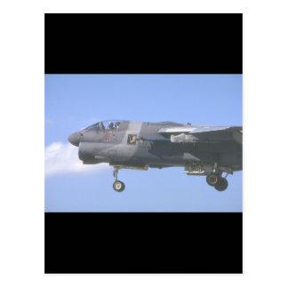 Kämpfer A-7 Jet_Military Flugzeuge Postkarte