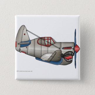 Kämpfer-Flugzeug-Buttone des Flugzeug-WW2 Quadratischer Button 5,1 Cm