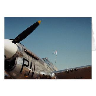 Kämpfer-Flugzeug RAF WW2 Karte