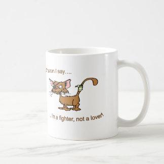 Kämpfer-nicht Liebhaber Kaffeetasse