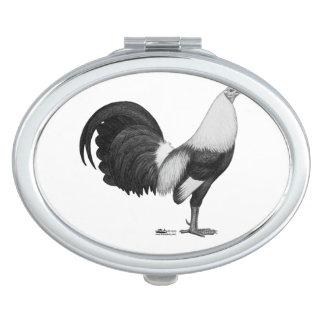 Kampfhahn-Grau Duckwing Schminkspiegel