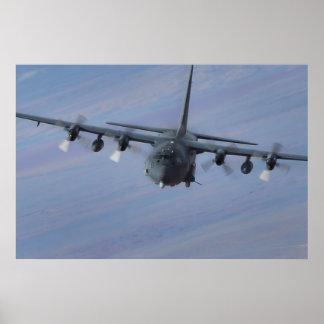 Kampfhubschrauber C-130 Poster