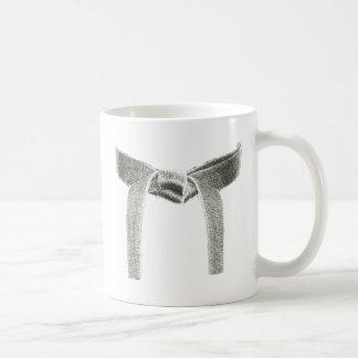 Kampfkunst-Gurt-Entwurf Kaffeetasse