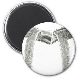 Kampfkunst-Gurt-Entwurf Runder Magnet 5,1 Cm