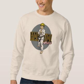 Kampfkunst-Junge Sweatshirt