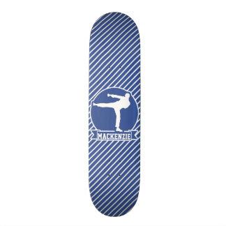 Kampfkunst-, Karate-, Blaue u. weißestreifen Individuelle Decks
