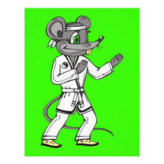 Kampfkunst-Mäusemäuse Flyer