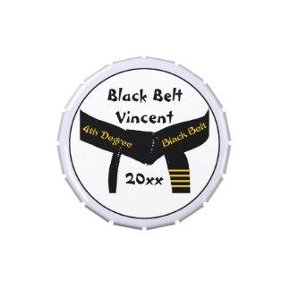 Kampfkunst-viertes Grad-Gürtel-Süßigkeits-Zinn Vorratsdose