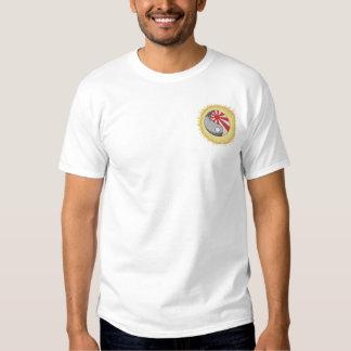 Kampfkünste Besticktes T-Shirt