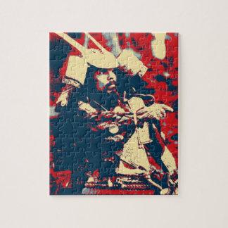 Kampfkünste bushido japanische Krieger Samurais Puzzle