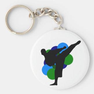 Kampfkünste Keychain Schlüsselanhänger