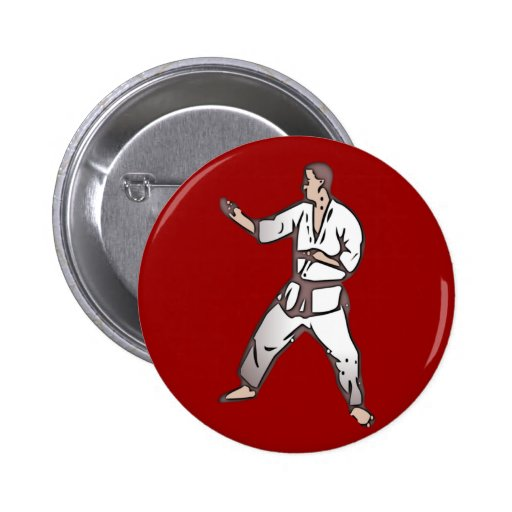Kampfsport martial arts anstecknadelbuttons