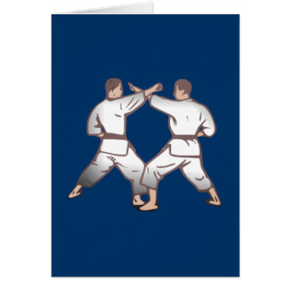 Kampfsport martial arts karten
