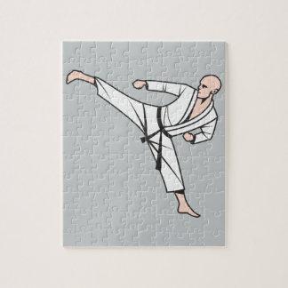 Kampfsport martial arts puzzle